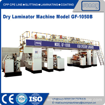 Good Quality for Film Laminating Machine SUNNY MACHINERY Dry laminating machine export to United States Manufacturer