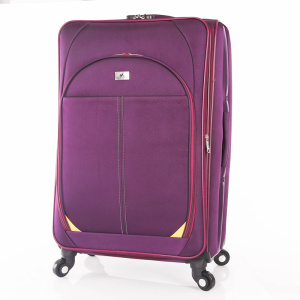 good nylon fabirc Universal wheel EVA luggage bags