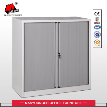 Grey Color PVC Tambour Door Cabinet