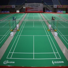 Cheap price for Badminton Court Mat BWF Badminton Court flooring Mats supply to United States Factories