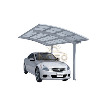 Single Garage CarShelter Roof Parking Pc Sheet Carport