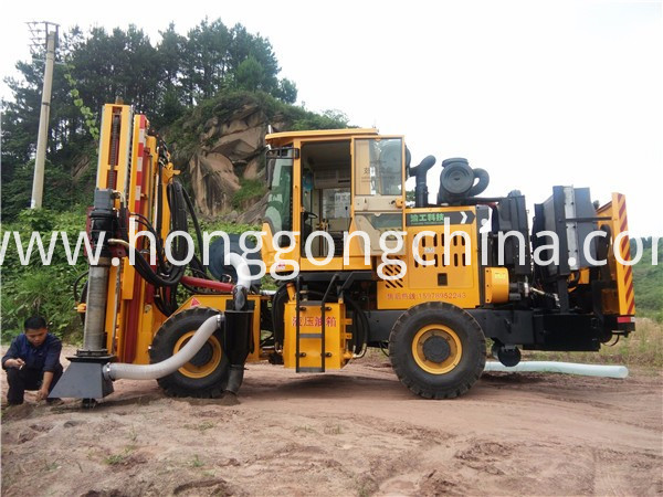 Drilling Machine for Plateau Area