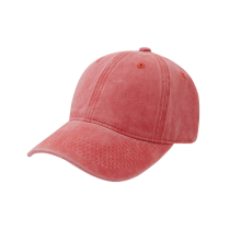 Cotton Twill Coating Washing Man Women Plain Cap