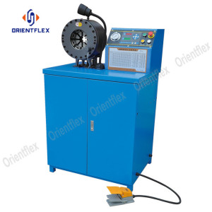 Cost-effective 2 inch rubber tube crimping machine HT-91C-6