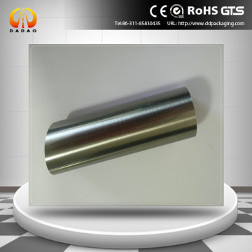 stainless steel silver PET film