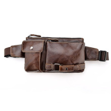Customized Supplier for Trendy Crossbody Bags New Design Leather Strap Men Waist Bags supply to Togo Factory