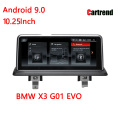 BMW X3 G01 Android 9.0 Navigationsradio