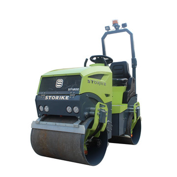 New hydraulic diesel engine road paving machine 1.2ton