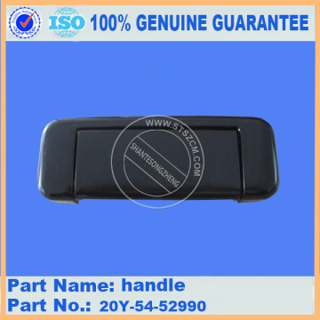 PC200-7 handle 20Y-54-52990 komatsu excavator parts