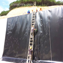0.75mm HDPE geomembrane as sea cucumber pond liner