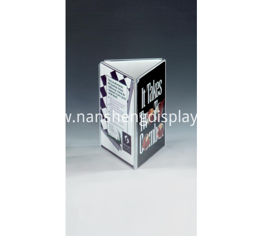 Advertising Acrylic Sign Holder