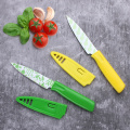 Set of 2 ceramic coating paring knife set