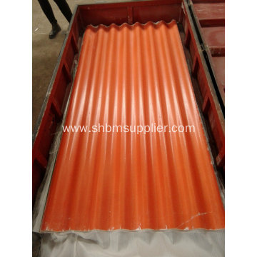 Chemical Factory Anti-Corrosion Mgo Roofing Sheet