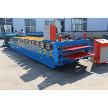 Galvanized Corrugated and Trapezoidal Steel Sheets Making Machine