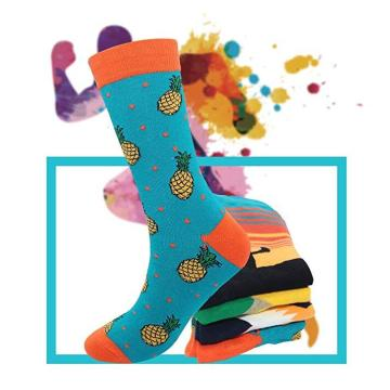 Good Quality for Herrensocken Bunt Fashion Colorful Casual Socks export to Eritrea Supplier