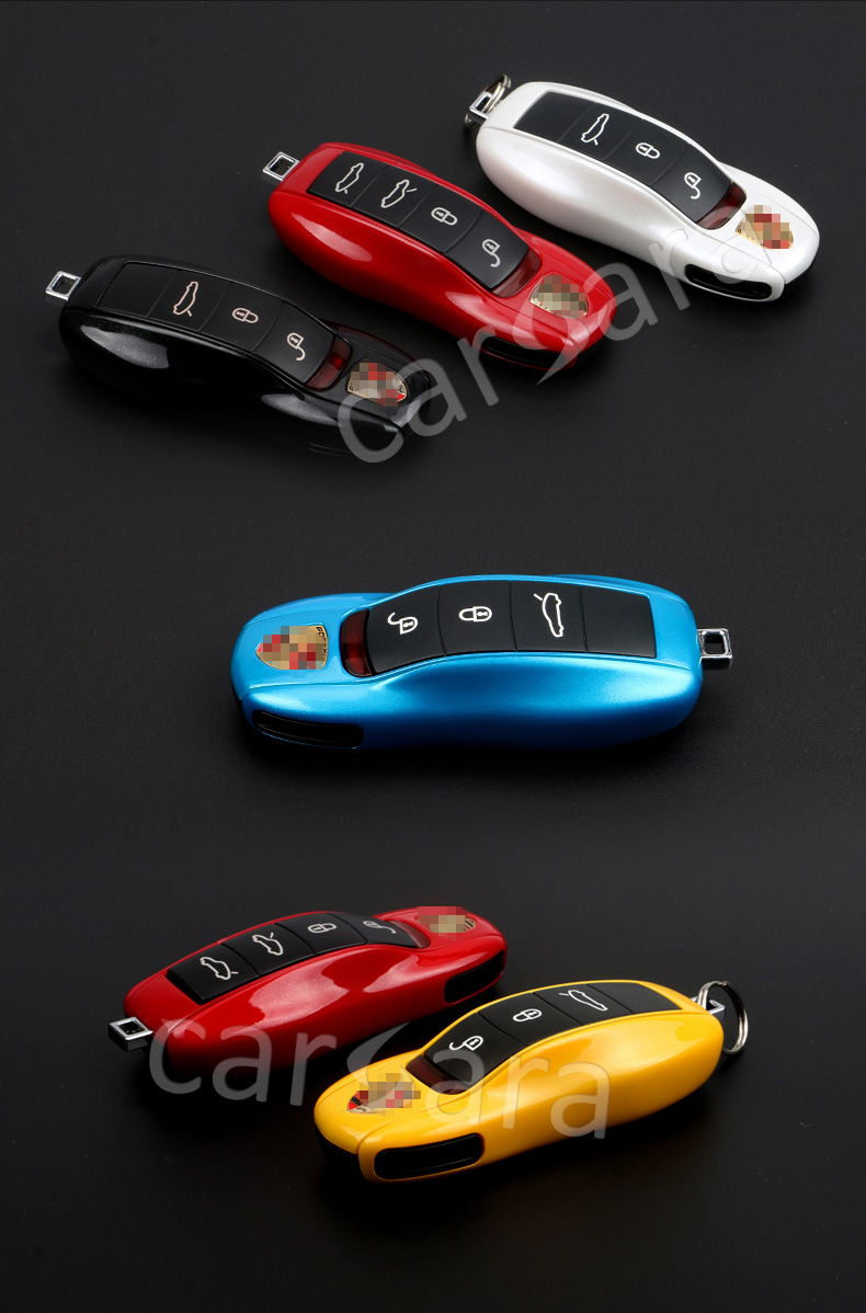Car key case shall for Porsche