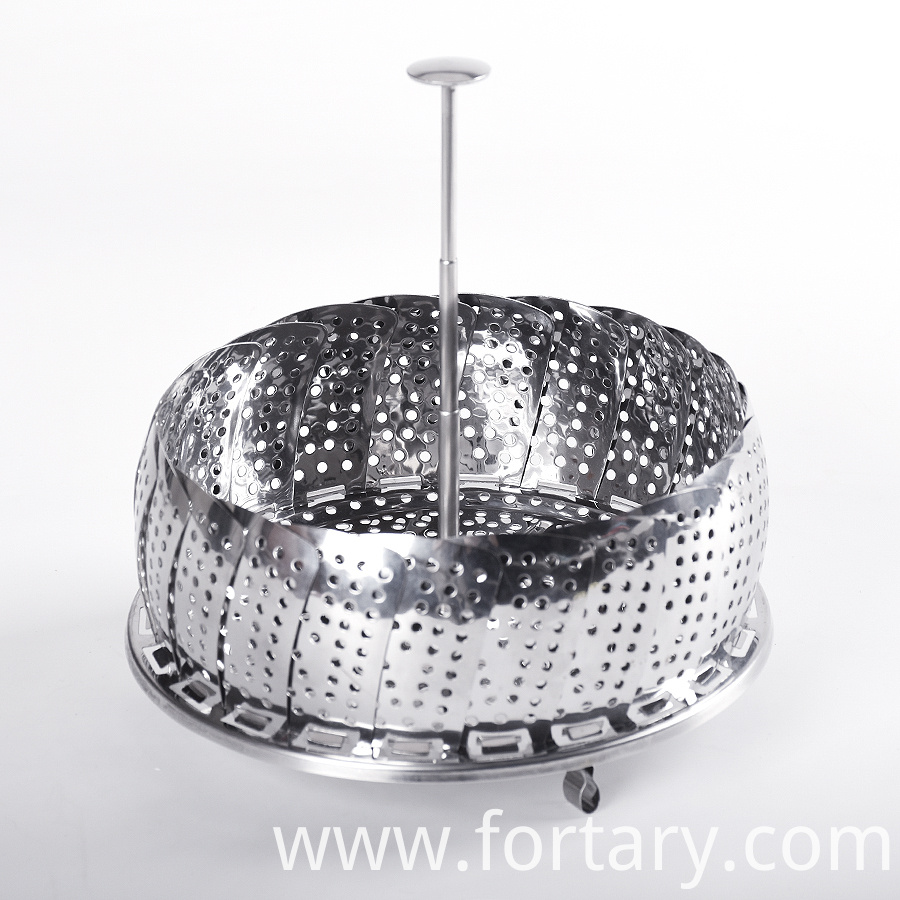 Stainless Steel Foldable Steamer