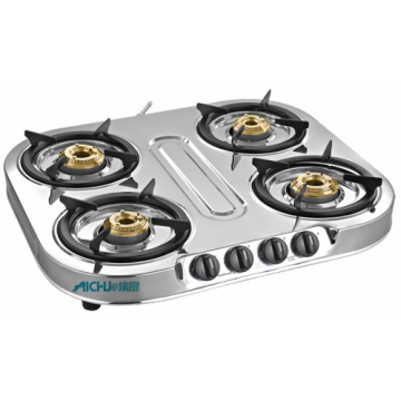 Shakti Star 4 Burner SS Gas Stove
