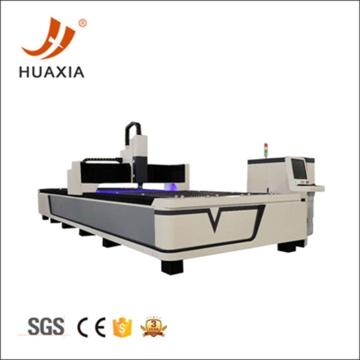 CNC fiber laser cutting machine with laser generator