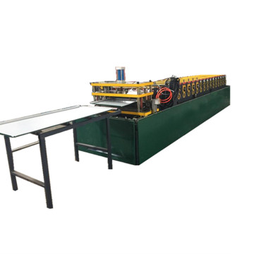 Metal plate sheet roll forming machine