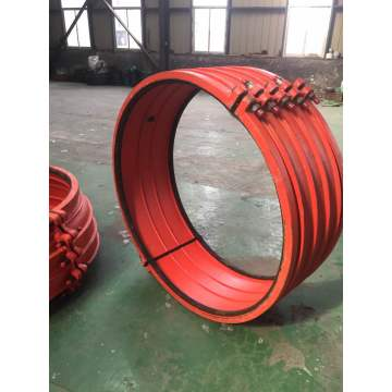 Ductile iron quick repair clamp large tollerance