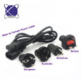interchargeable AC power cable