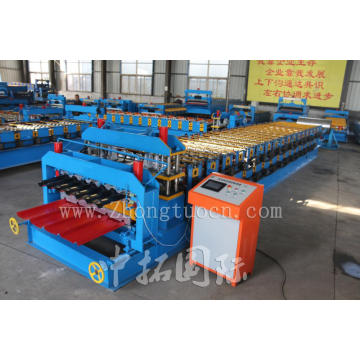 Double Deck Steel Roofing Panel Forming Line