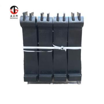 2400mm length shaft type forklift forks for port using