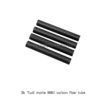I-3k 50mm Round Tube Carbon Fiber Pipe