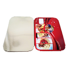 China for Container Lids Lunch Box Cover Foil Lids export to Panama Wholesale