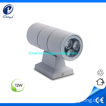 12W IP65 outdoor waterproof led wall-mount light