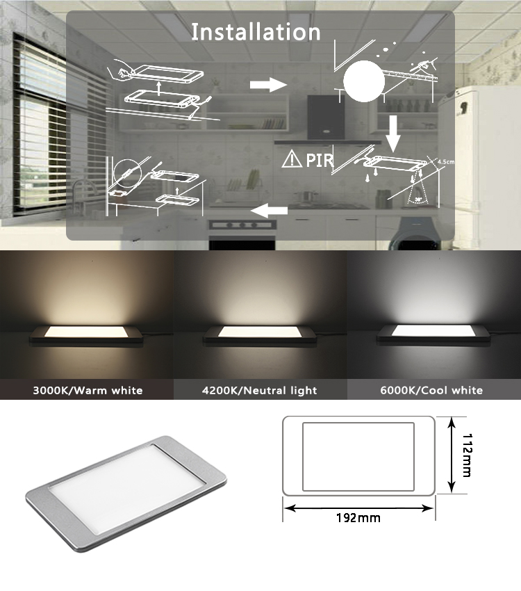 Dimming Cabinet Panel Light Kit