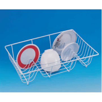 Single Tier Coated Dish Basket