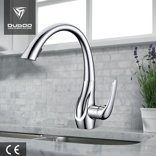 Single Lever Kitchen Sink Faucet Ob D02