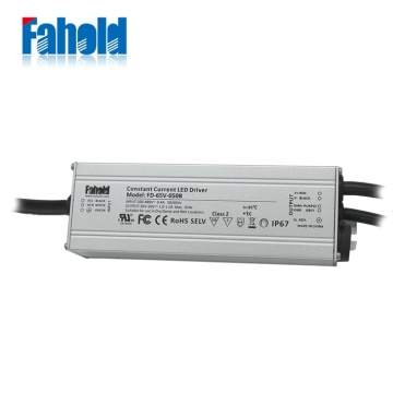 480Vac LED Driver Power Supply 65W
