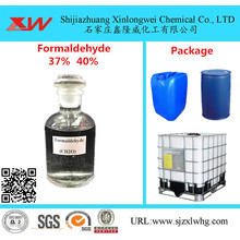 Factory directly sale for Formaldehyde Solution Used For Adhesive (ISO Certificate)Formaldehyde / Formalin 37 37% 40% export to Netherlands Importers