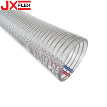 Professional for Pvc Flex Hose Transparant PVC Coated Flexible Steel Wire Hose export to Grenada Supplier