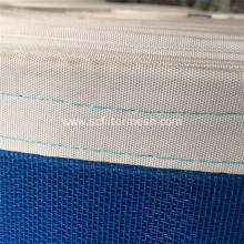 Export Blue Food Machinery Conveying Polyester Mesh Belt