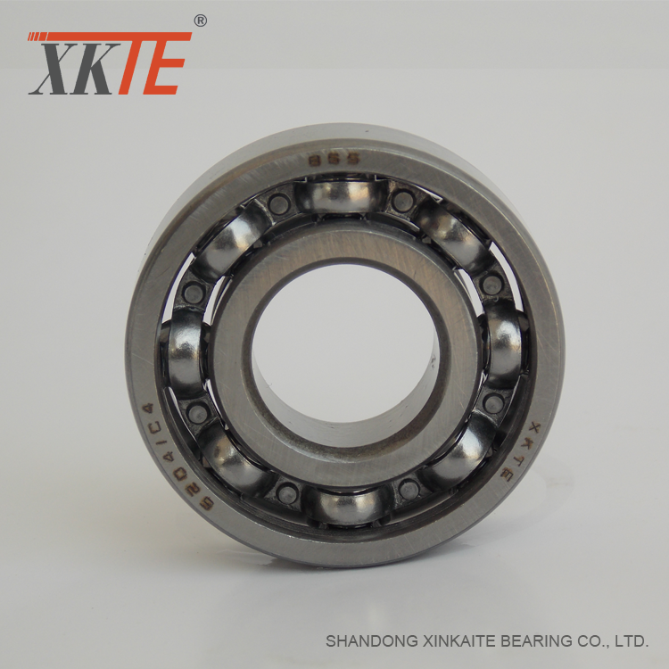 Open type deep groove ball bearing 6204 C3