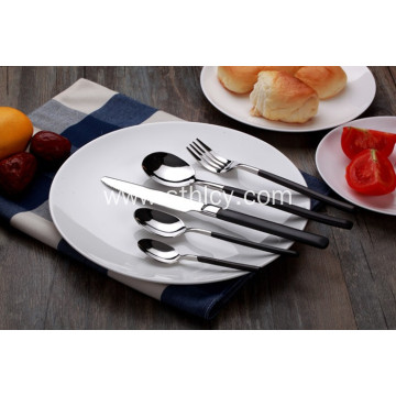 Silver Stainless Steel Dinnerware Set Cutlery Set
