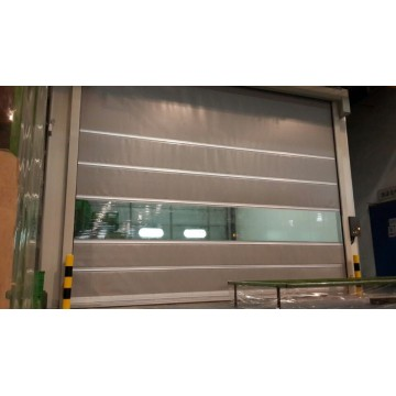Logistics warehouse high speed door
