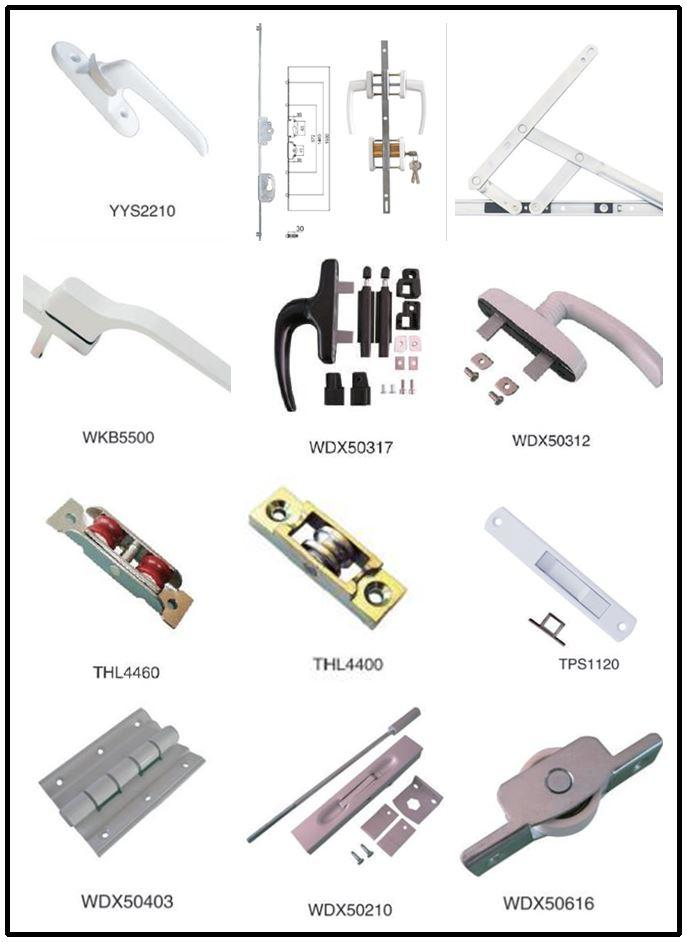 pvc window hardware