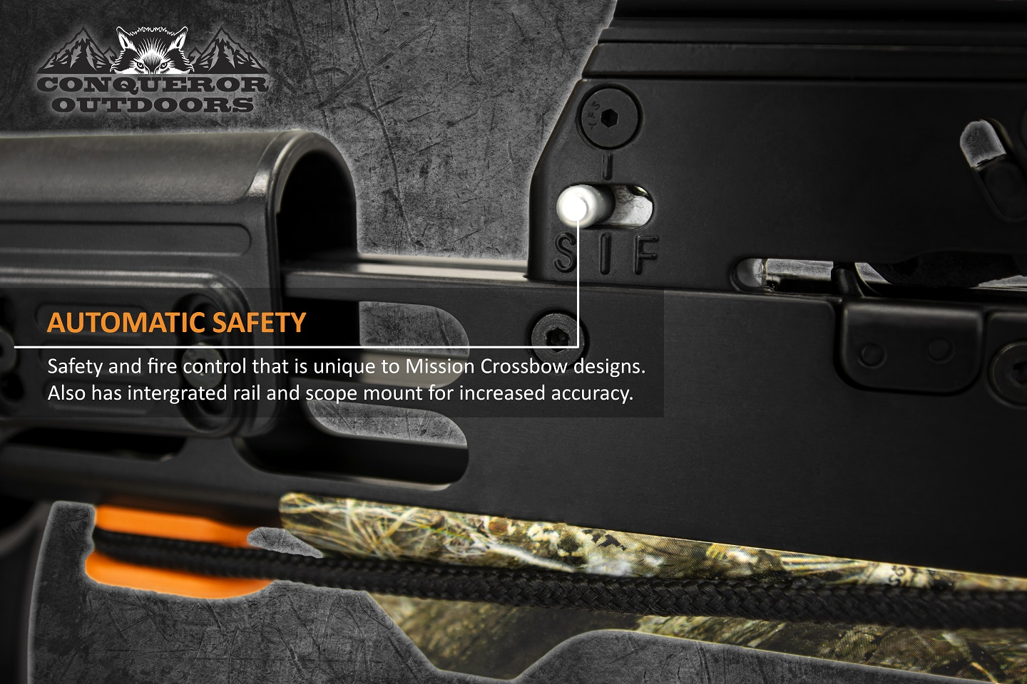 Mission Crossbow 400 Safe Detail with Text