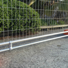 Galvanized Free Standing Portable Temporary Fencing