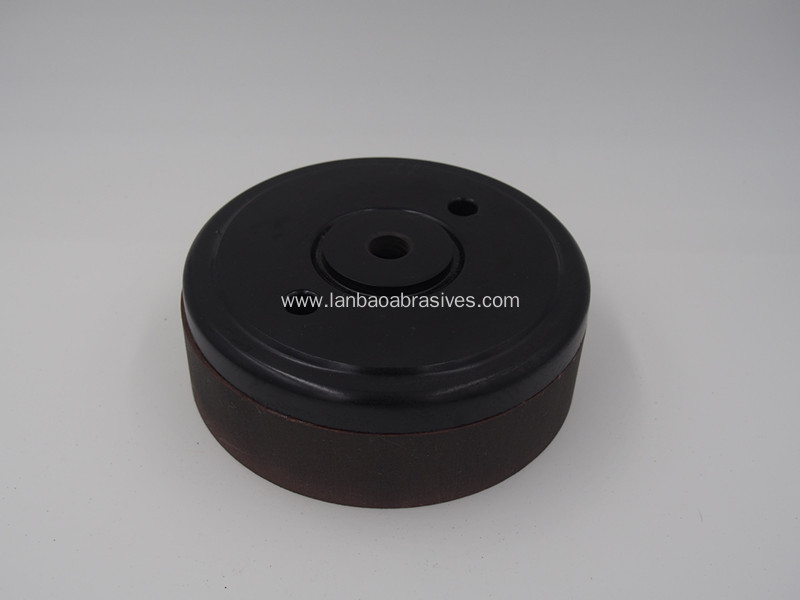 Cup shape BD polishing wheel with base