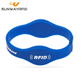 Dual Frequency RFID NTAG213 Wristband for Access control