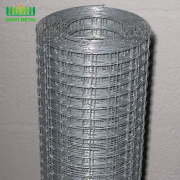 Galvanized Welded Iron Wire Mesh Fence