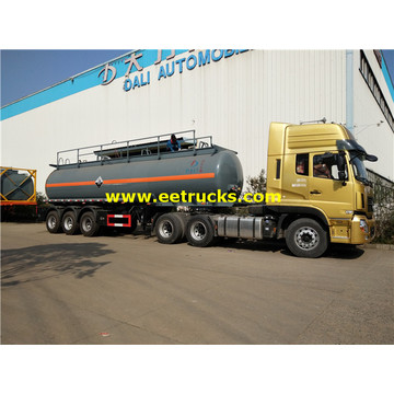 28cbm 3 Axles H2SO4 Tanker Trailers