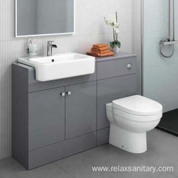 Modern european style wash basin bathroom cabinet