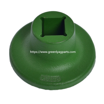 G5704 06-057-004 KMC/Kelly Disc concave Spool painted green